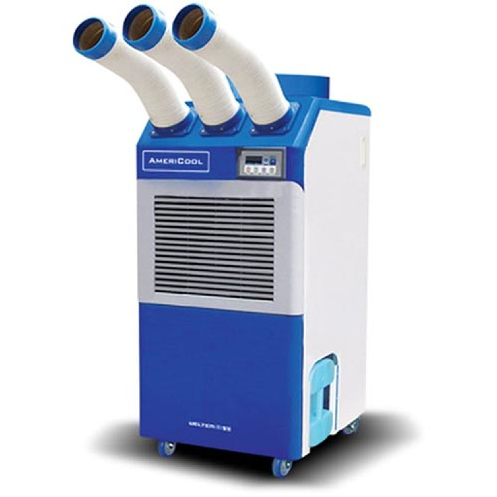 3 Ton 37k BTU Portable Industrial Air Conditioner with Cold Air Nozzles