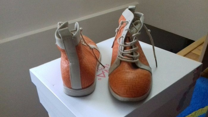 narandzaste duboke cipele br 38 - Beograd