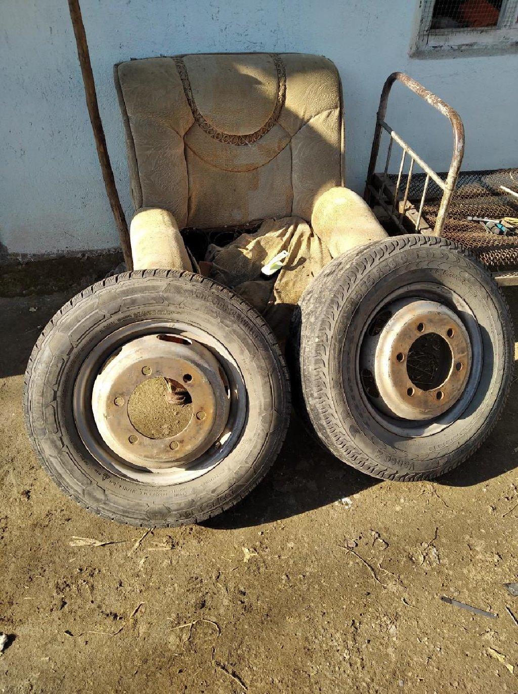 Комплект 4шт диски 4шт шины за всю 14 000сом Жалабат Кочкората