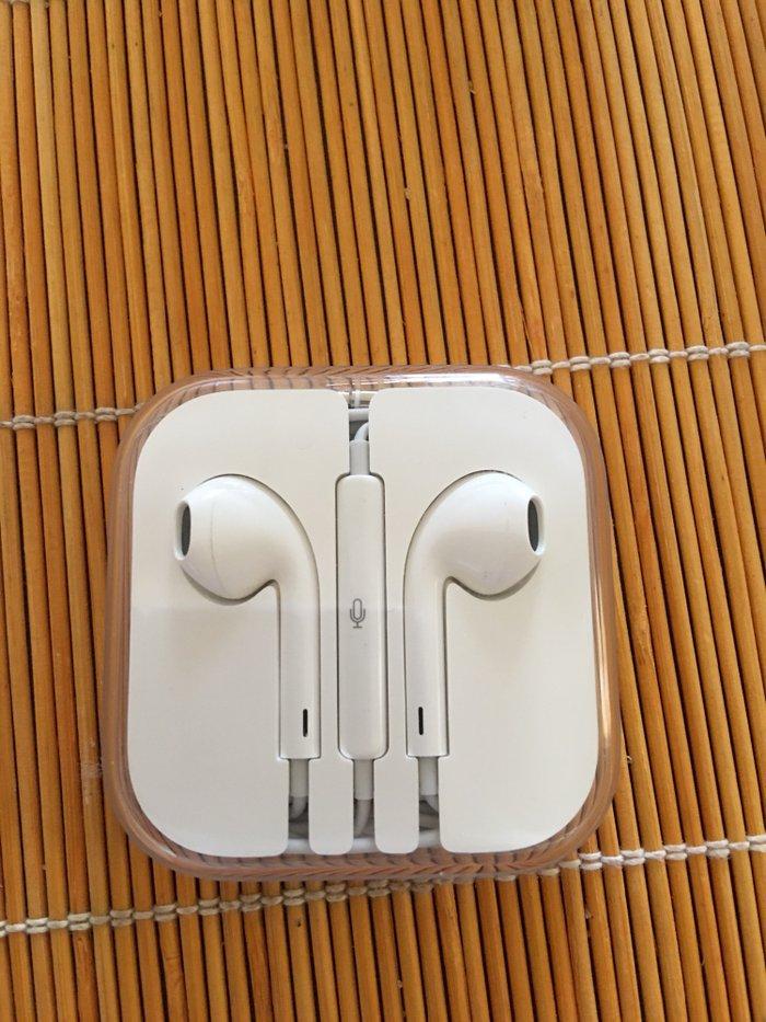Ακουστικα iphone γνησια καινουργια . Photo 0