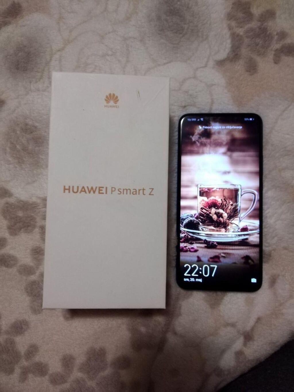 Huawei P Smart Z, mint stanje, star 6 meseci, garancija dve godine, ful pakovanje