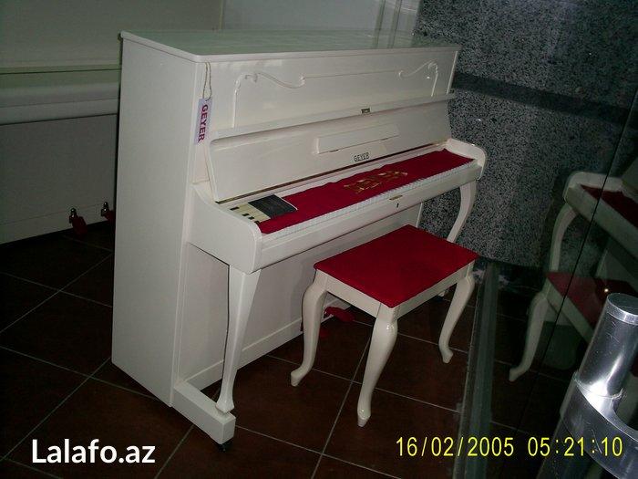 Gəncə şəhərində Almaniya Cexiya Forte-Pianolari Satilir