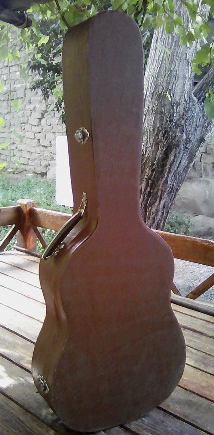 Жесткий футляр (кейс) для гитары. Производство СССР. Размер 3/4. . Photo 2