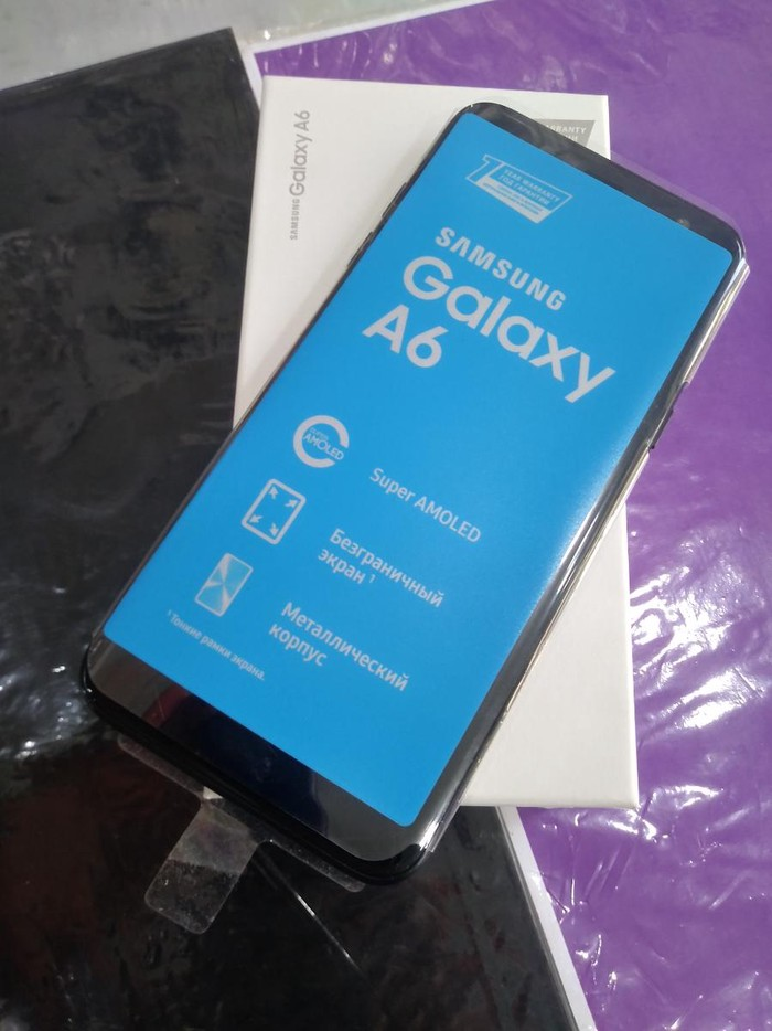 Yeni Samsung Galaxy A6 32 GB qara. Photo 0