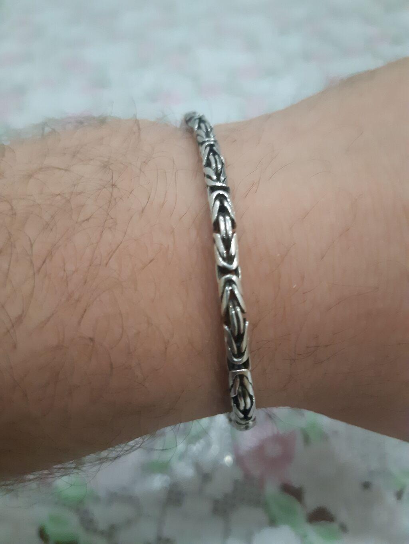 Серебрянный браслет почти новый королевское сплетение 925 проба: Серебрянный браслет почти новый королевское сплетение 925 проба