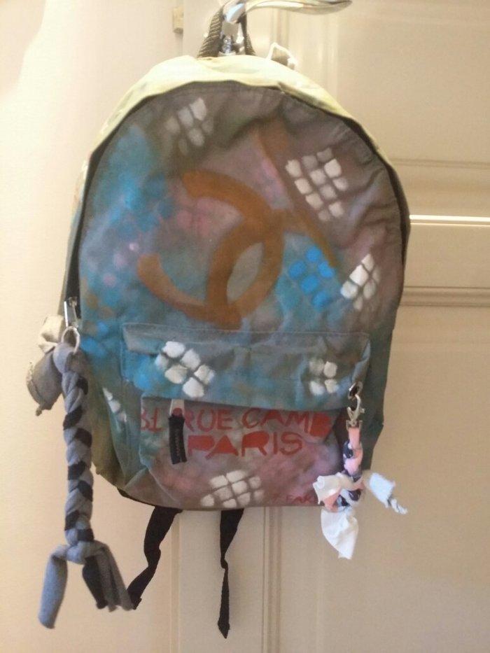 Τσάντα backpack χακί