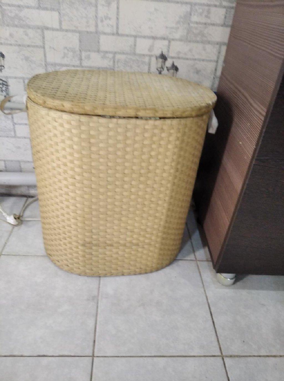 Корзина для белья плетёная деревянная в Бишкек