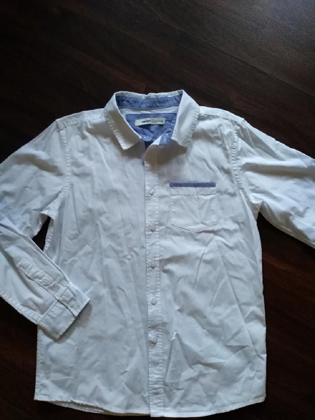 Košulja za dečaka. Veličina 10