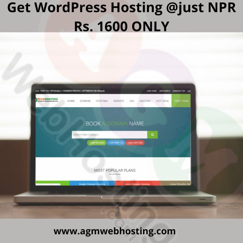 Web Hosting in Nepal - Top WordPress Hosting in Nepal: