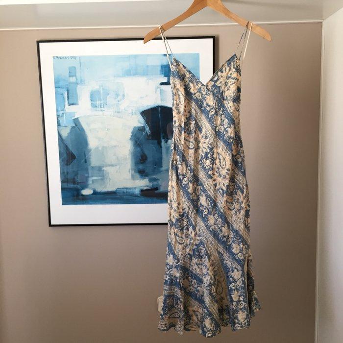 Αυθεντικό Ralph Lauren αμάνικο, μεταξωτό,maxi. Photo 0