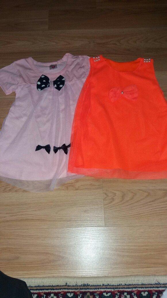 2 nove majcice-tunikice za devojcice velicina 2 - Indija