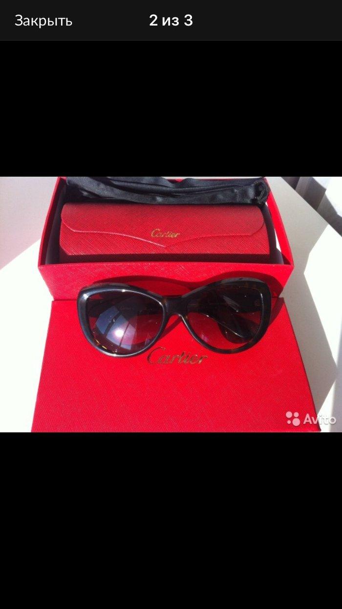 Очки новые Cartier в коробке чехол доставка по Москве и почтой по всем. Photo 0