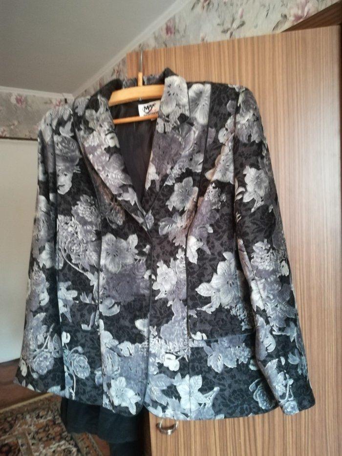 Пиджак велюровый размер 50 52 новый. Photo 0