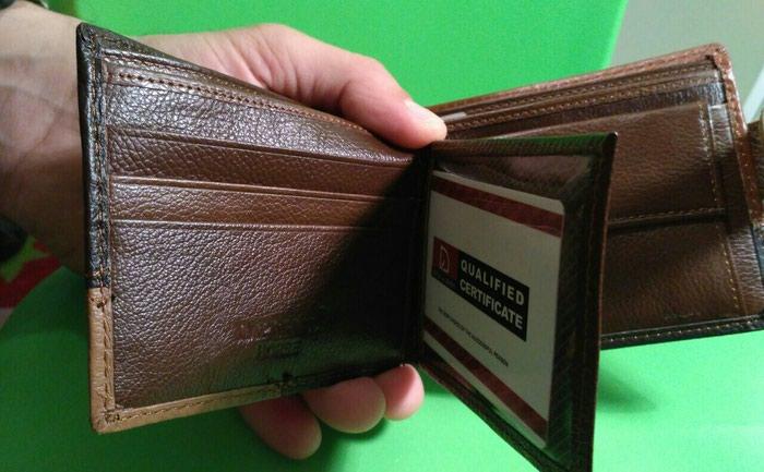 Ανδρικό πορτοφόλι. Photo 1