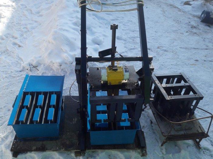 Мини пескоблочный станок мм-011 в Бишкек