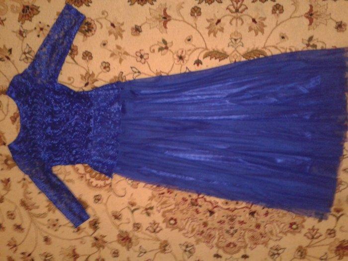 продаю вечернее платье на рост 163 см размер 42 44 цена 700 сом немног в Кок-Ой