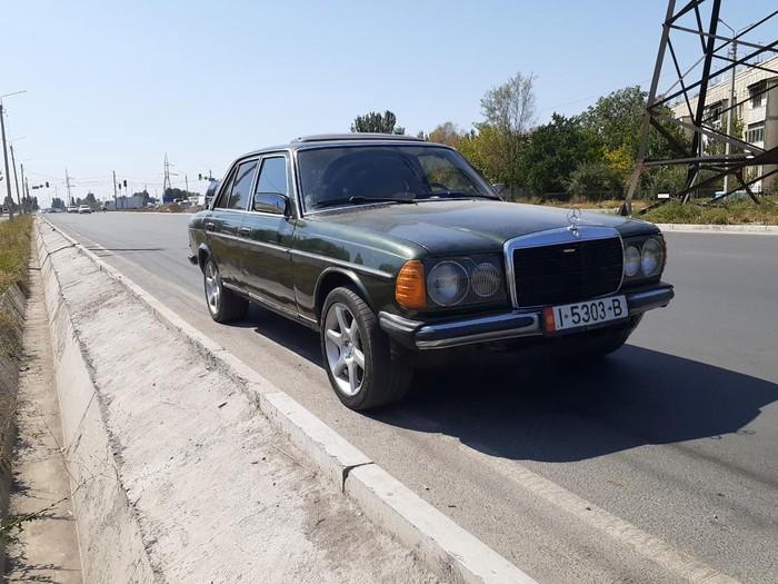 Mercedes-Benz W123 1981. Photo 0
