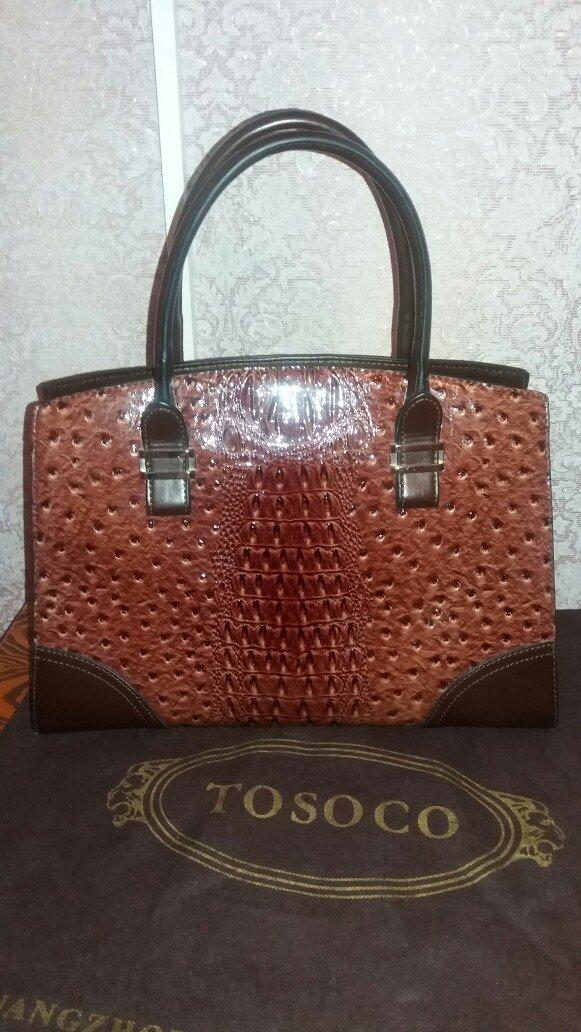 32e4ec657793 Женская сумка 26см × 36см. Tosoco. Дополнительный длинный ремешок. в Бишкек