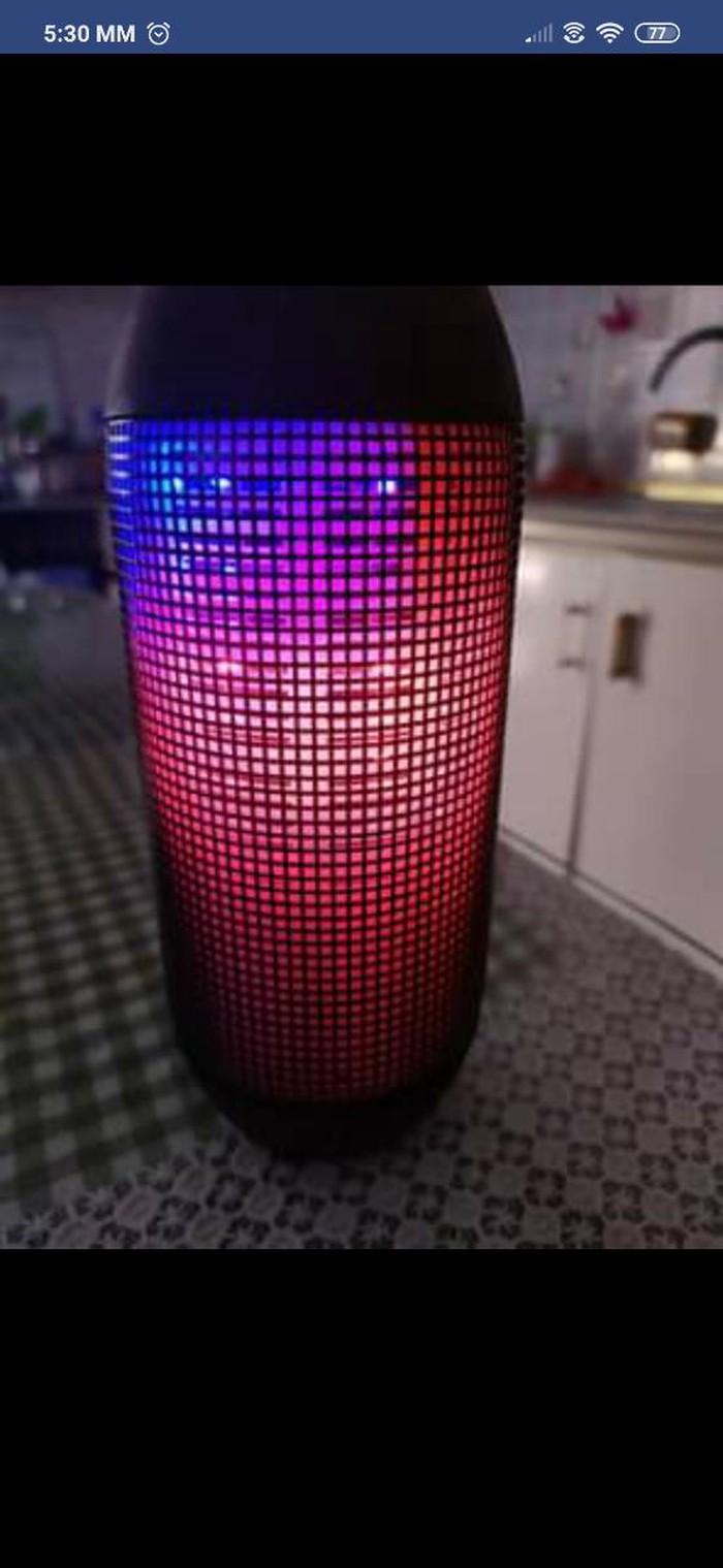 Ηχειο with led light. Photo 5