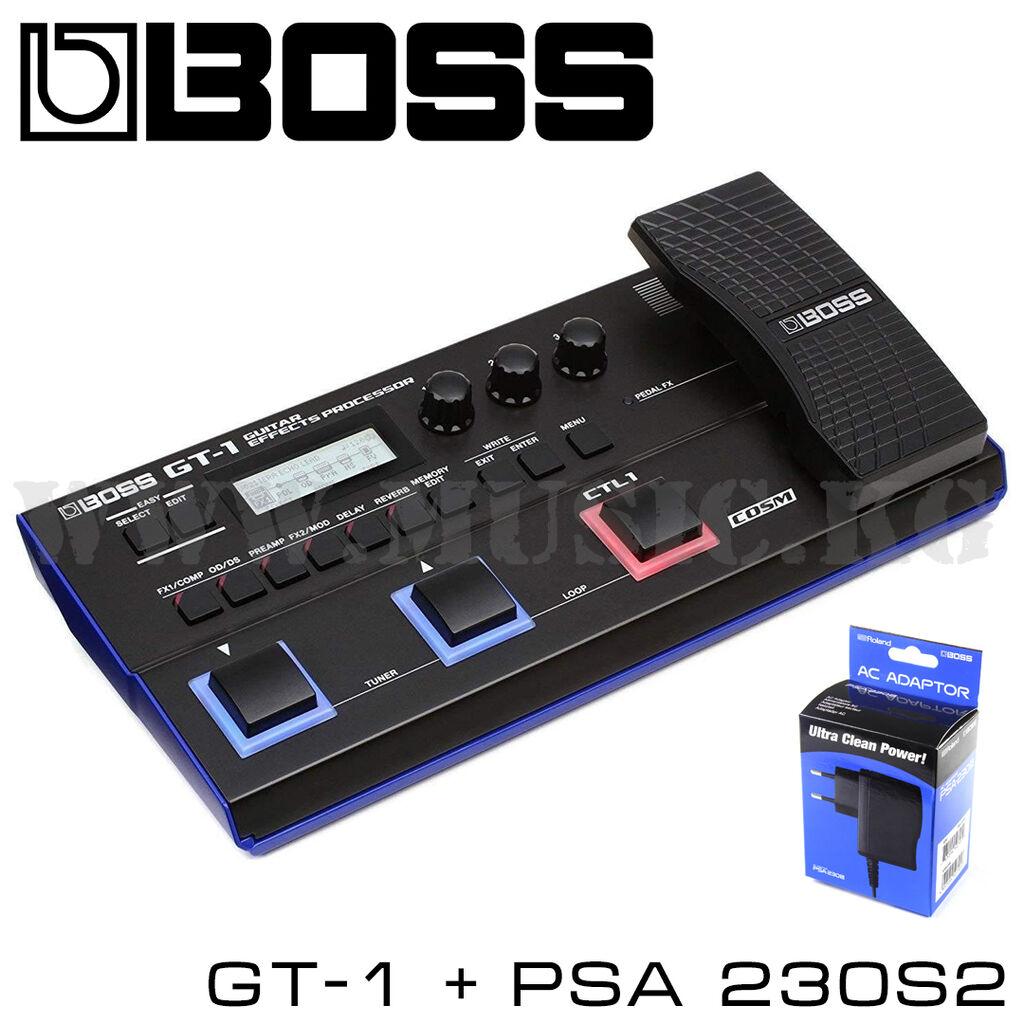 Процессор эффектов BOSS GT 1 + Блок питания Boss PSA-230S2Предельно | Объявление создано 24 Январь 2021 07:42:22: Процессор эффектов BOSS GT 1 + Блок питания Boss PSA-230S2Предельно