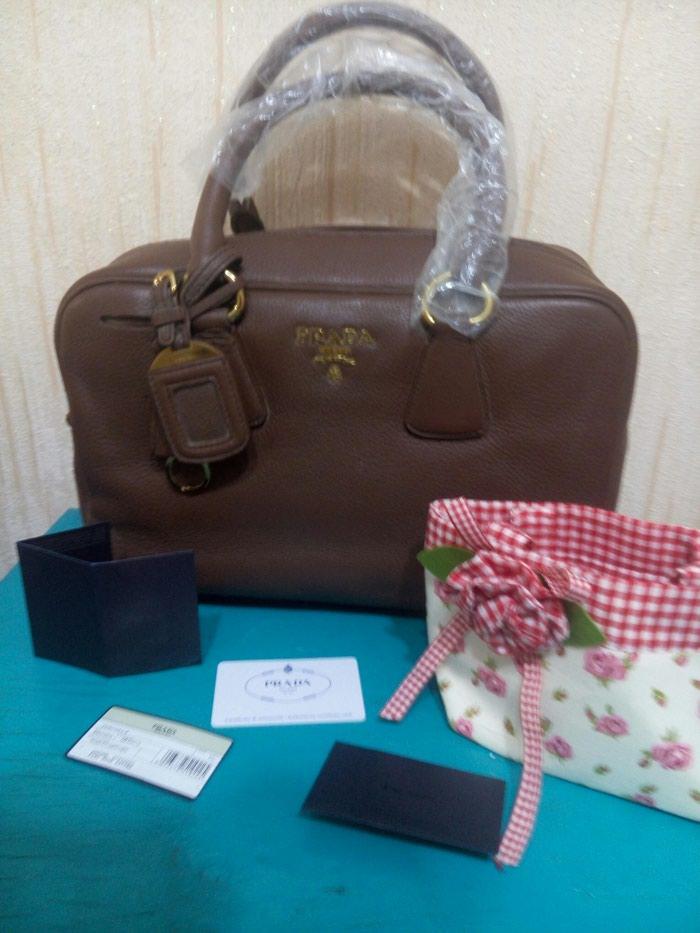 d9a245e07b57 сумка Prada, кожа больше сумок смотрите в профиле за 1000 KGS в ...