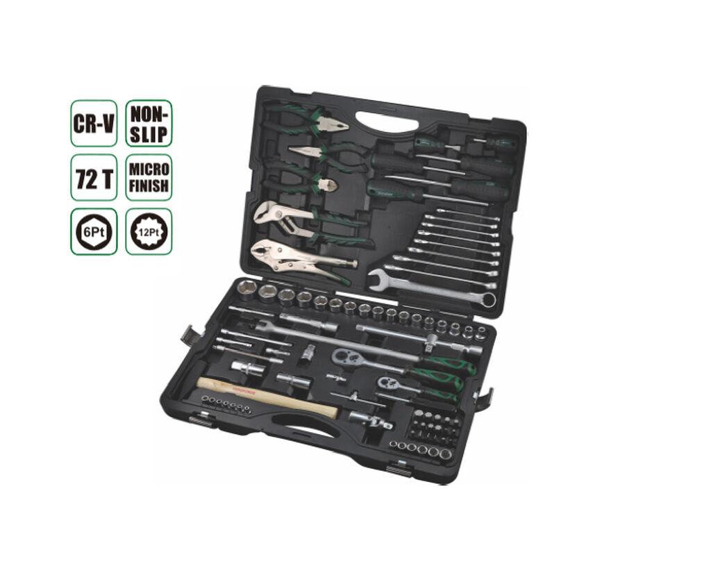 Набор инструментов 86-1 прс, AE-S86-1, * 17шт бит 30 (L): H7,H8,H10,H12,H14,SL8,SL10,SL12,PH3,PH4
