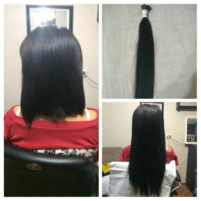 наращивание натуральных волос , 1000 сом до 120 капсул. есть в наличии в Бишкек