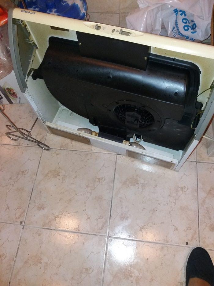 Газовая плита Беко с аспиратором тоже Беко в отличном состоянии. Photo 3