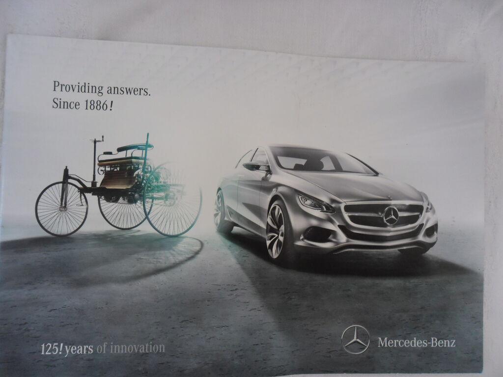 Prospekt Mercedes  125 god