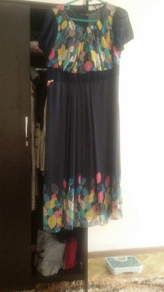 Платье Турция почти новое 1 раз одели сидит очень красиво размер 54 в Лебединовка