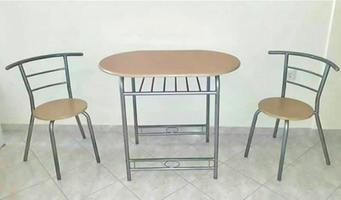 Dining set, table 60x45x75cm, 2 chairs σε Αιγάλεω