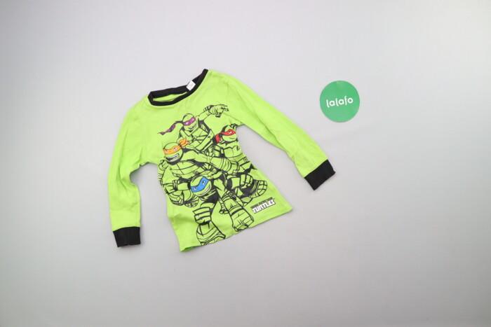 Дитячий лонгслів з черепашками ніндзя Nickelodeon    Довжина: 39 см Ши: Дитячий лонгслів з черепашками ніндзя Nickelodeon    Довжина: 39 см Ши