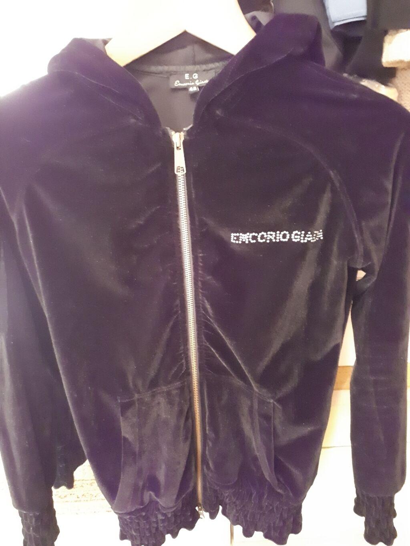 """Индивидуальный пошив - Бишкек: Женская куртка кофточка от 'E.G."""" Италия 44 размер , вельюр шикарного"""