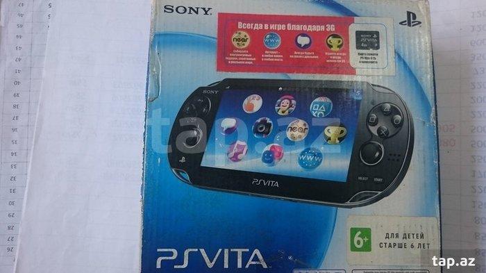 PS VITA PSH 1003 oyun kompyuteri (Arxa ve On kamerali+Internet den in Bakı