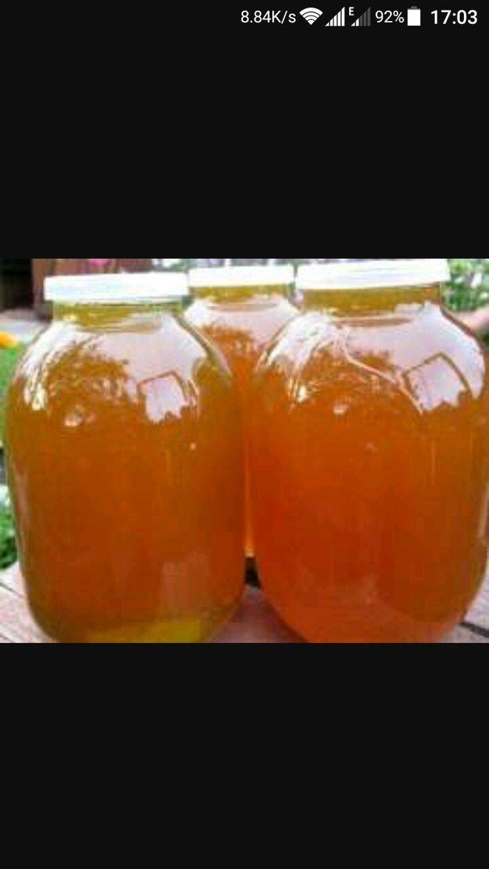 Qusar şəhərində продаю ЧИСТЫЙ мёд..3 литров стоит 130 ман.