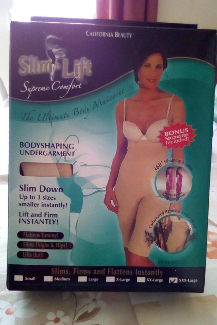 Λαστέξ κορμάκι αναδόμησης σώματος slim lift, αχρησιμοποίητο, μπεζ,. Photo 0