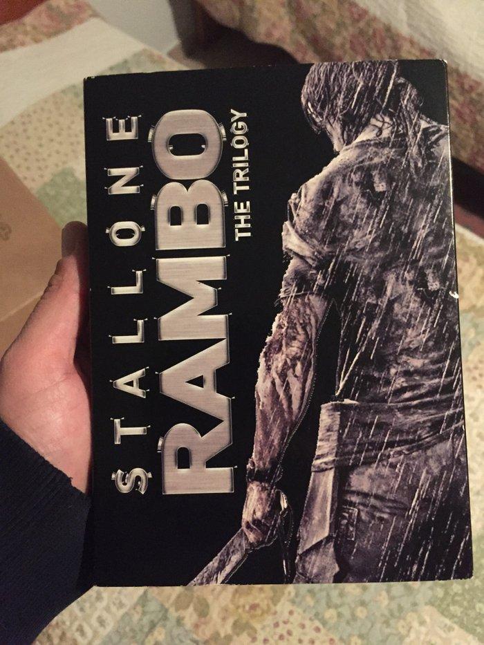 Rambo trilogy!