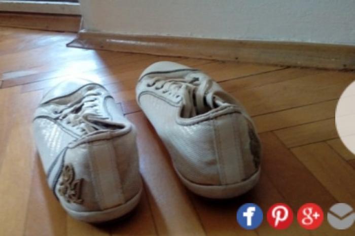 Ženska patike i atletske cipele - Nis: Original replay patike. Zlatne boje, ocuvane, broj 39