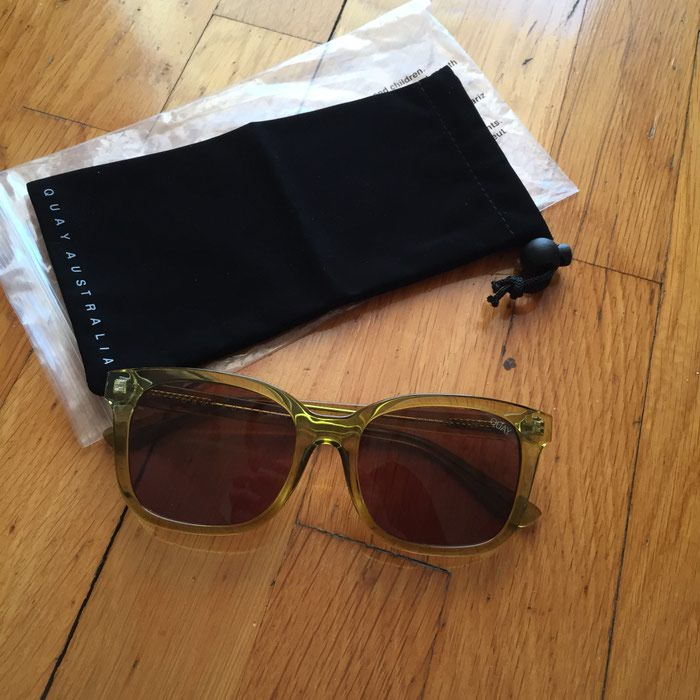 67b259914c Ολοκαίνουργια γυαλιά ηλίου Quay Australia με for 35 EUR in Νέα ...