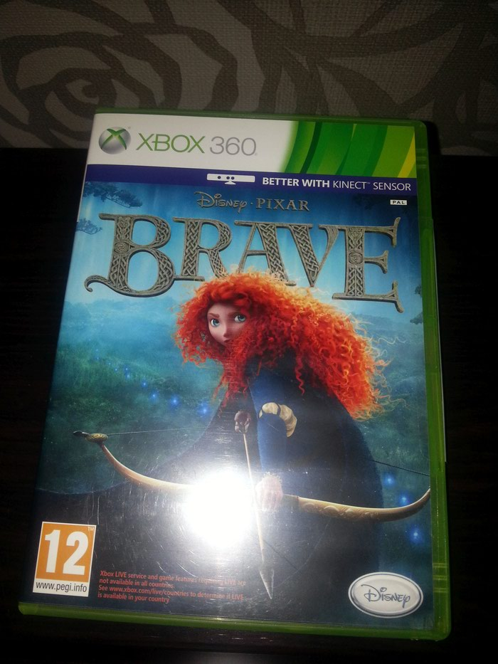 BRAVE XBOX 360 - Disney - Pixar Original. Photo 0