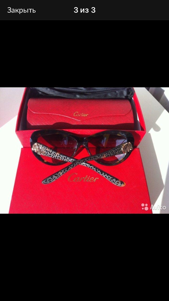 Очки новые Cartier в коробке чехол доставка по Москве и почтой по всем. Photo 1