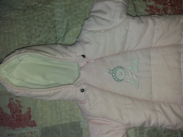 Skafander za bebe od 0-6 meseci,kao nov obucen dva,tri puta. Photo 0