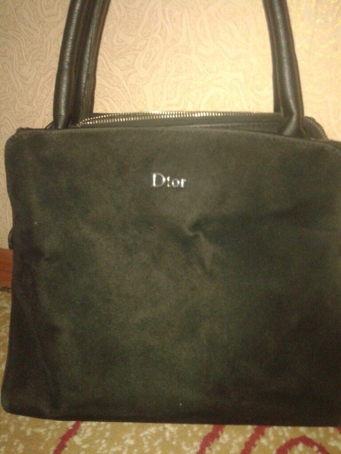 Сумка Dior  в отличном состоянии, замшевый дар холати нагз ва тоза. Photo 1