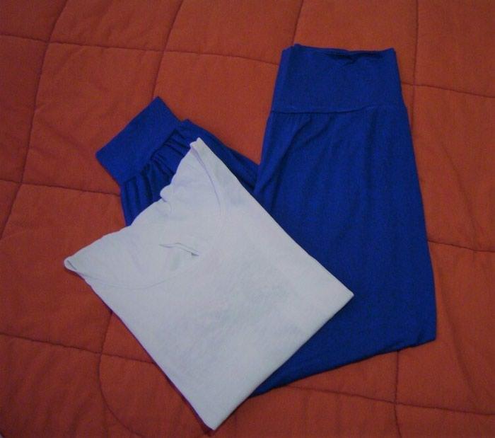 Παντελόνι και μπλούζα, παντελόνι : One size, μπλούζα : M, αφόρετα