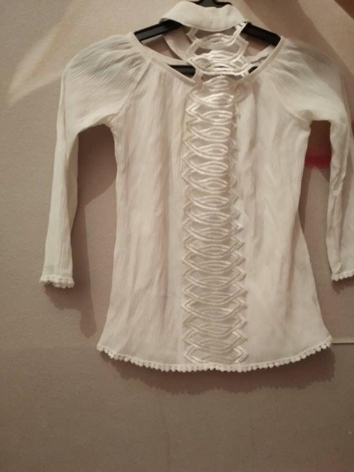 fb7881f74b7c527 Белая блузка размер стандарт за 450 KGS в Бишкеке: Рубашки и блузы ...