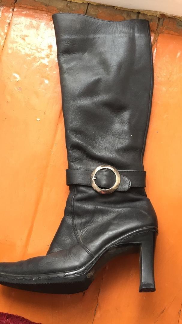 423cdbbec61a Сапоги женское, состояние хорошее, размер 36, кожа, цена 800сом. в Бишкек