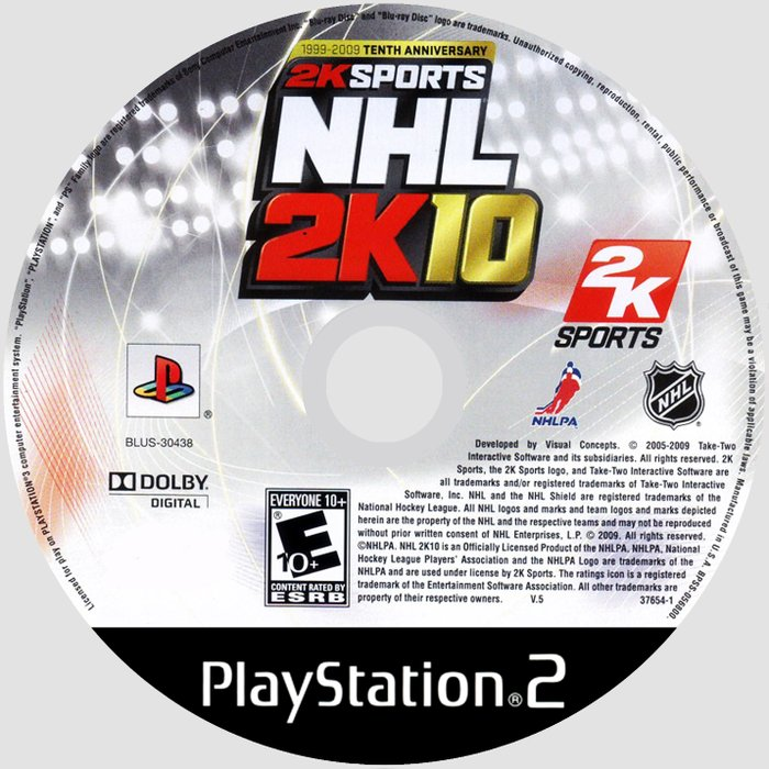 Bakı şəhərində NHL2K10.Ps2 üçün.Yenidir.Sayı çoxdur.