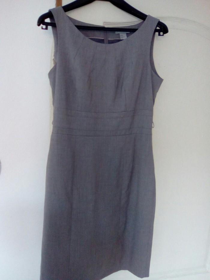 Haljine - Vranje: HM haljina u boji peska vel 40 predivnog  klasicnog modela