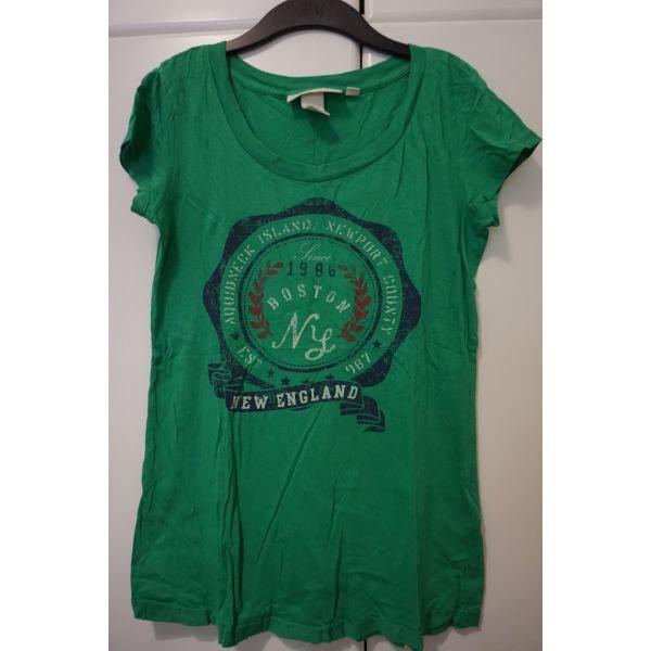 H&m LOGG μπλουζα small με μεγαλη φορμα σε Αθήνα