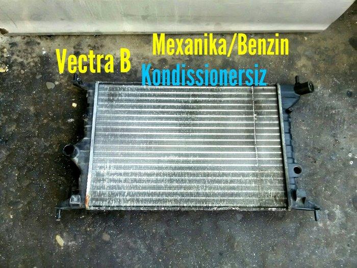 Opel Vectra B Mexanika Benzin Kondissionersiz Su Radiatoru. Photo 0